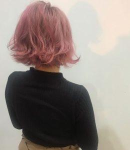 ピンクボブヘアー | スタイルイメージ
