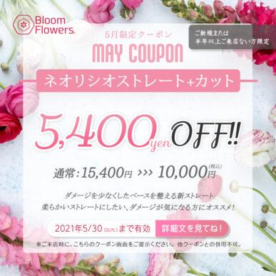 【5月限定クーポン】カット+ネオリシオストレート 通常¥15,400→¥10,000(税込) イメージ