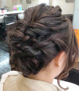 結婚式のお呼ばれヘアセット | スタイルイメージ