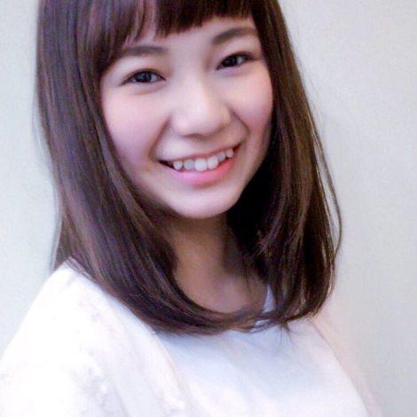 パッツン前髪×ナチュラル イメージ